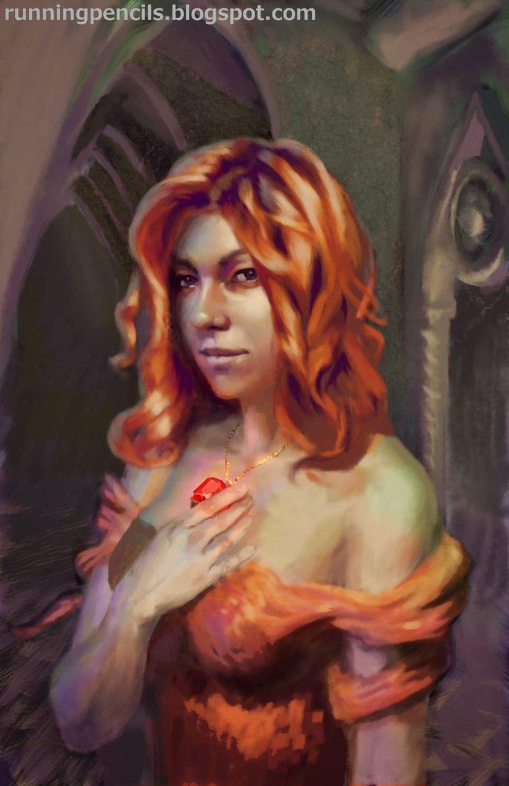 Melisandre red priestess of R'hllor