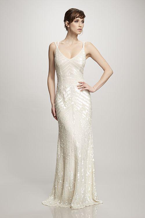 44 best Art deco inspired wedding dresses images on Pinterest ...