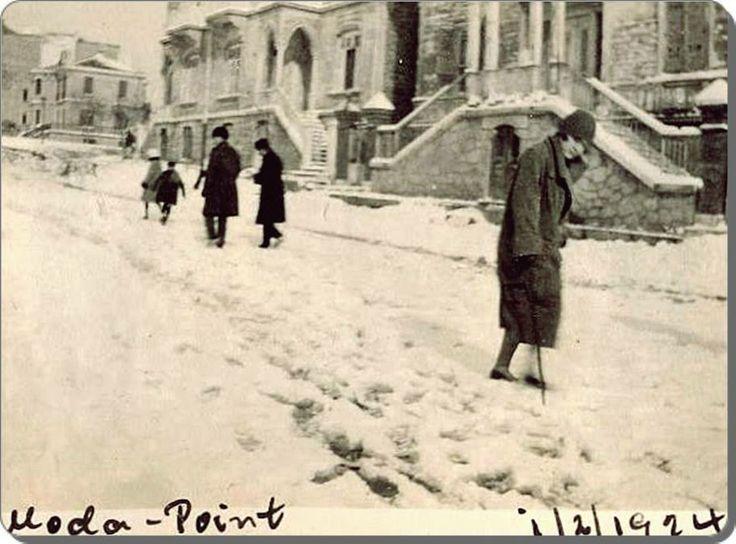 Moda burnu'nda kış, 1924