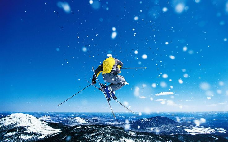 Extreme Sports Extreme Sports of Alpine skiing sport