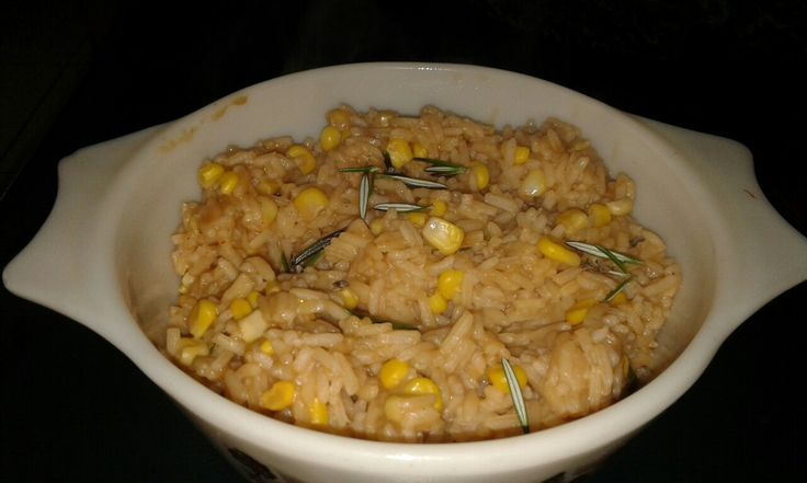 Sticky corn n rice palau