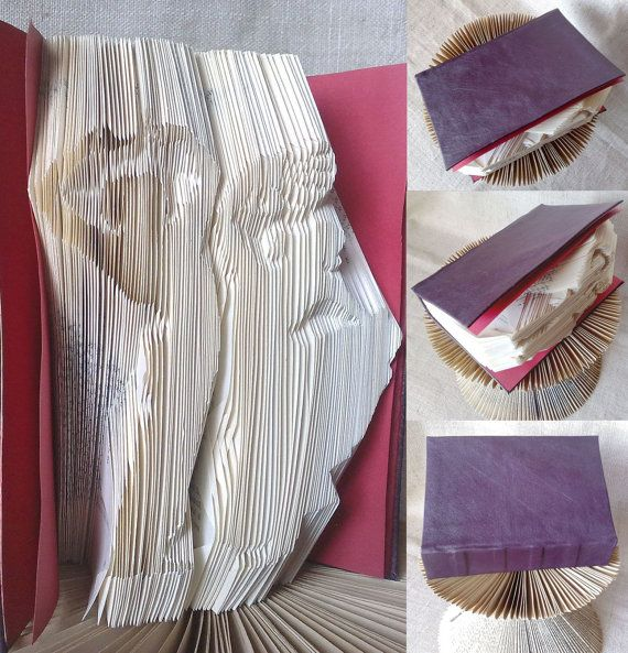 Folded book  Flamenco Dancers with fan  Finished by PatternsStore