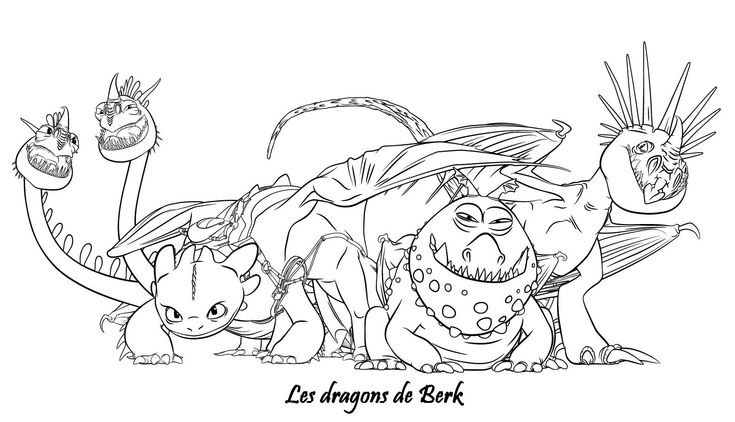 Coloriage Dragons 2 Les Dragons De Berk Coloriage Dragon New