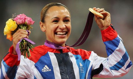 Jessica Ennis @J_Ennis showing the world that this tiny country produces world class #Olympic champions GIRL POWER!! #TeamGB #London2012