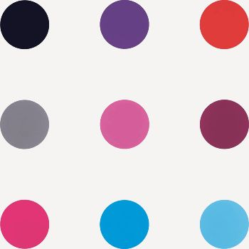 pleasing circles: Current Exhibitions, Galleries Locations, Polka Dots, Gagosian Galleries, Galleries Hop, Dots Dots Dots, Contemporary Art, Damien Hirst, Colors Inspiration