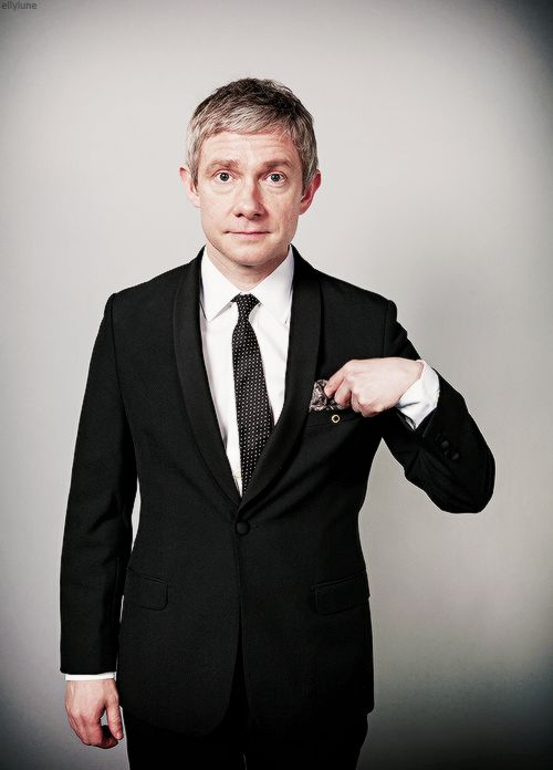 """Martin Freeman. His autobiography should be called """"Dapper as fuck"""""""