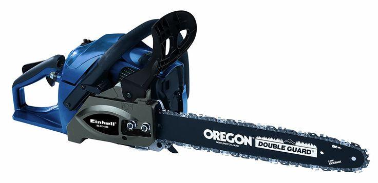 Einhell BG-PC 4040 Petrol Chainsaw with Autochoke and 40 cm Oregon Bar - Red