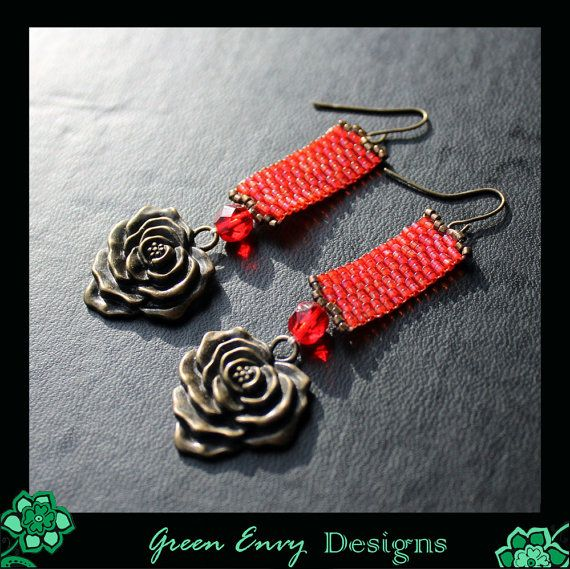 Roses by GreenEnvyDesigns on Etsy