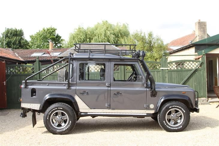 Used 2001 Land Rover Defender TD5 TOMB RAIDER DCB for sale in Bristol from Williams Automobiles.