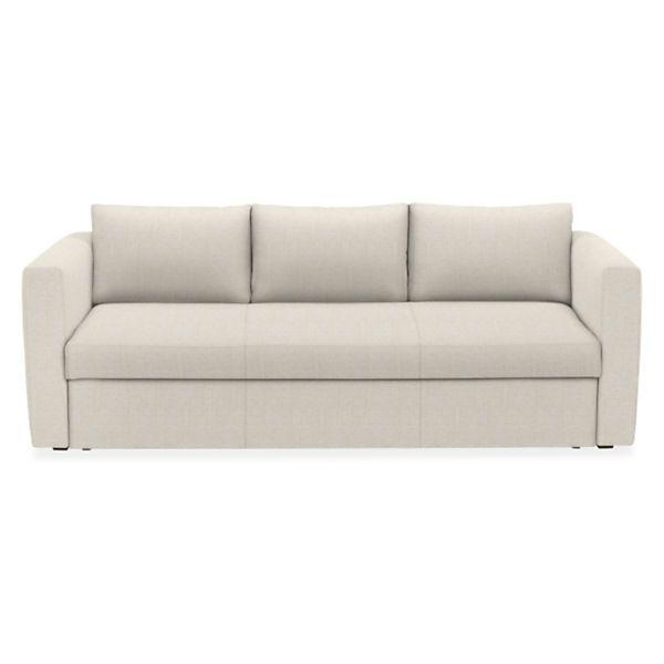 "Room & Board - Oxford Custom 86"" Pop-Up Platform Full Sleeper Sofa"