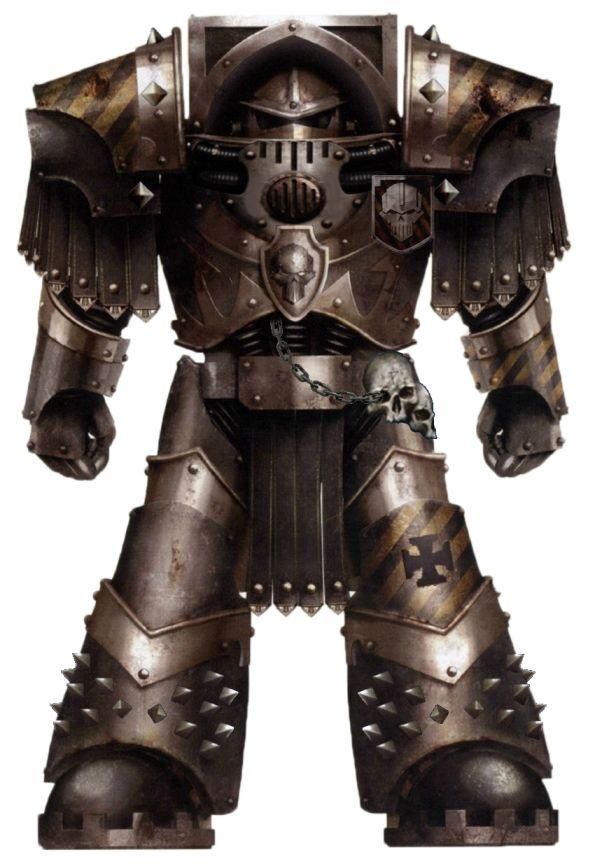 Horus Heresy Era - Iron Warrior in cataphractii pattern terminator armour