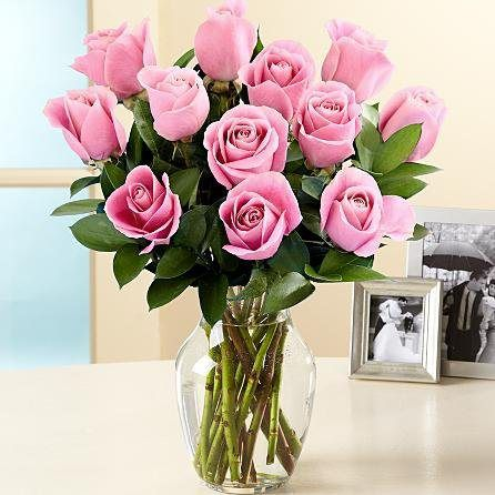 One Dozen Long Stem Pink Roses | Country Flowers Delivery Provides You Send Flowers Online, Same Day Flower Delivery, Bouquet of Flowers, Order Flowers Online,international Flower Delivery , Next Day Flower Delivery - http://flowersnhoney.com/one-dozen-long-stem-pink-roses-country-flowers-delivery-provides-you-send-flowers-online-same-day-flower-delivery-bouquet-of-flowers-order-flowers-onlineinternational-flower-delivery-next-day/