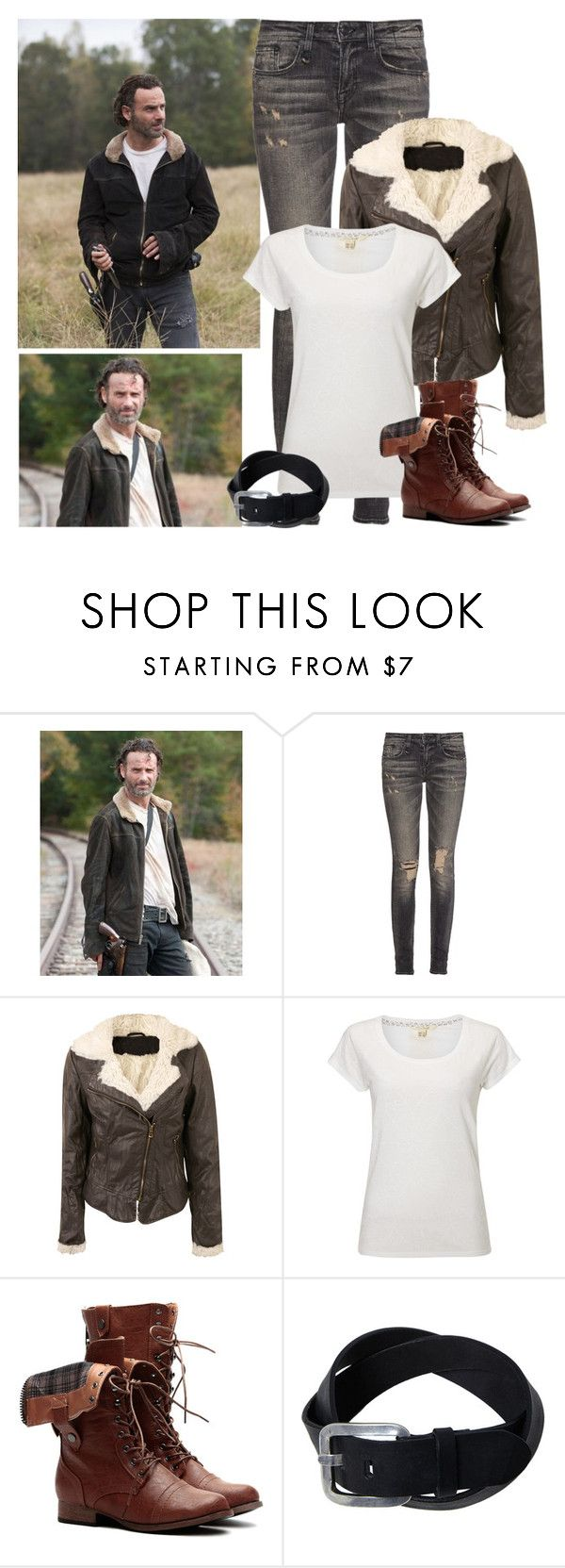 The Walking Dead - style by bebe6121985 on Polyvore featuring White Stuff, R13 and Episode
