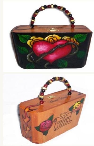 Make a cigar box purse.