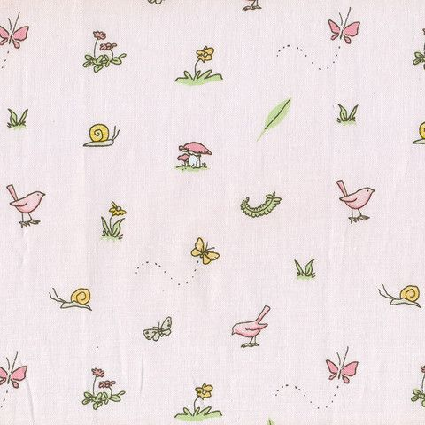 Guess How Much I Love You - Pink Bunny Icons $3.00 #guesshowmuchiloveyou #bunnyfabric #australianfabric