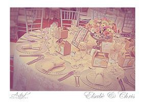 Bespoke items for you tables like these table numbers.