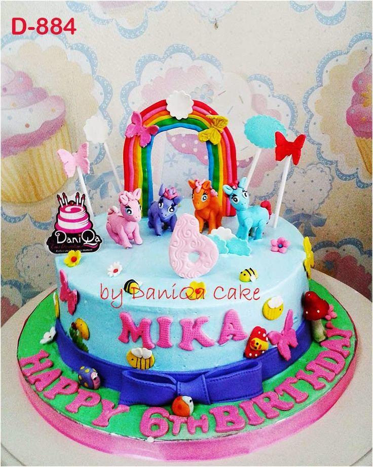 DaniQa Cake and Snack: Kue Ulang Tahun Little Ponny toko kue ulang tahun