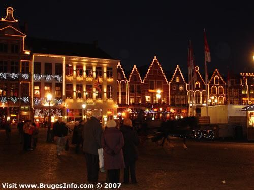 Christmas in Bruges.  Brian has been ancy to visit here for a while now, and it does look very charming.