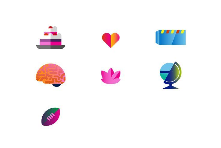 Microsoft Lumia icons designed by Hey. #icon #pictogram #symbols