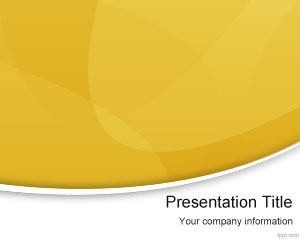 Free Yellow Modern PowerPoint Template is a free simple background template for presentations that you can download for your serious PowerPoint slides