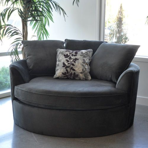 Cuddler Chair you shall be mine...This would be soooo comfy for curling up with a book & a tea.