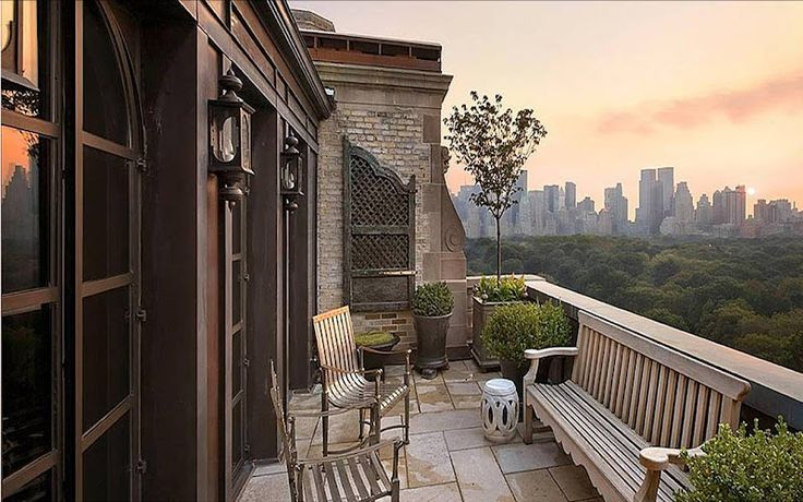 Central park balcony beautiful balconies pinterest for New york balcony