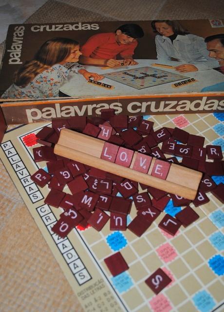 antigo jogo Palavras cruzadas fabrica Estrela: