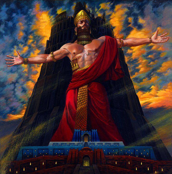 شبهة نبوخذنصر ملك اشور