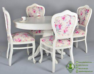 meja makan minimalis kayu mahoni