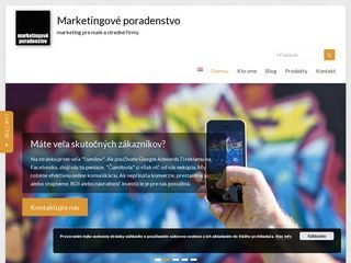 marketingové poradenstvo pre malé a stredné firmy