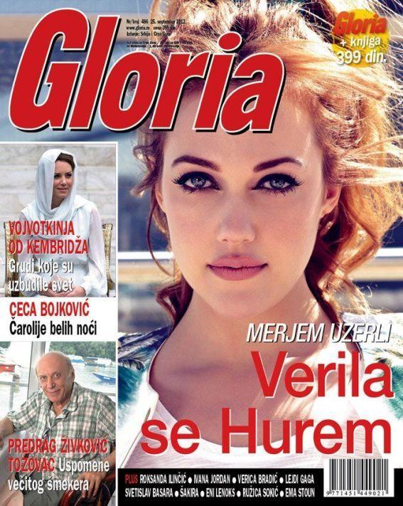 Meryem Uzerli for Gloria Magazine (Serbia), September 22nd 2012