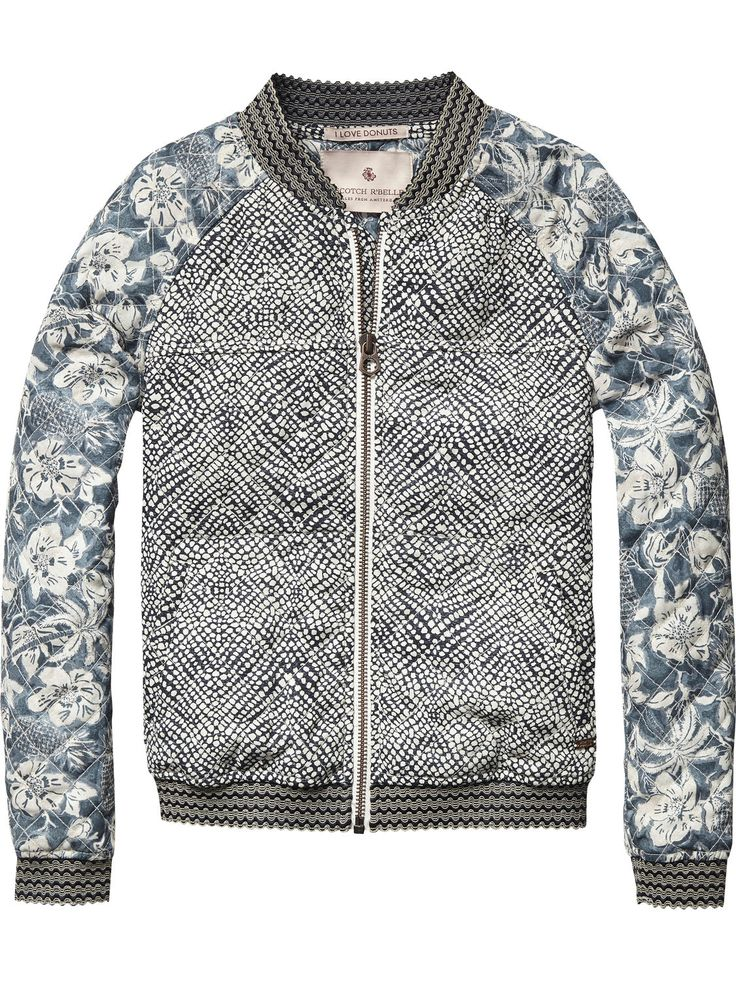 Quilted Jacket | Jackets | Girls Clothing at Scotch & Soda