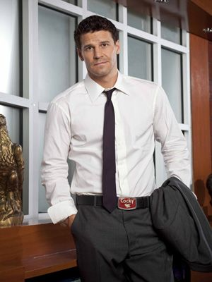 Seeley Booth - LOVE HIM.  My favorite FBI agent.  Of course, I'm using his TV name because I can't spell his real last name LOL!!  TDH all the way.  He's the reason women fantasize about agents.