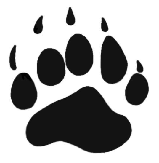 Grizzly Bear Paw Print Clipart   Clipart Panda - Free Clipart Images