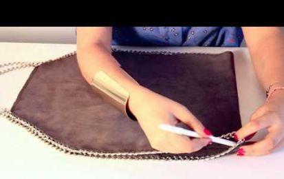 Realizzare la borsa Falabella di Stella McCartney [VIDEO] - Avete amato tantissimo la borsa Falabella del marchio di moda inglese Stella McCartney ma non avete i soldi per acquistare l'originale? Ecco un video per realizzarla da sole!