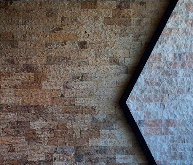 Πλακάκια Επένδυσης Μάνδρας Ραβδωτό  Η Ραβδωτή πέτρα Μάνδρας χρησιμοποιείται για διάφορες επενδύσεις σε εσωτερικούς αλλά και σε εξωτερικούς χώρους. Λόγω του ιδιαίτερου χρώματος της (καφέ-μπεζ) συνδυάζεται πάρα πολύ καλά με το ξύλο.  Το χρώμα της είναι καφέ-μπεζ.  Οι διαστάσεις της είναι : 10m πλάτος ελεύθερο μήκος και πάχος 2cm περίπου.  http://www.toutsis.gr/product-category/plakakia-ependysis