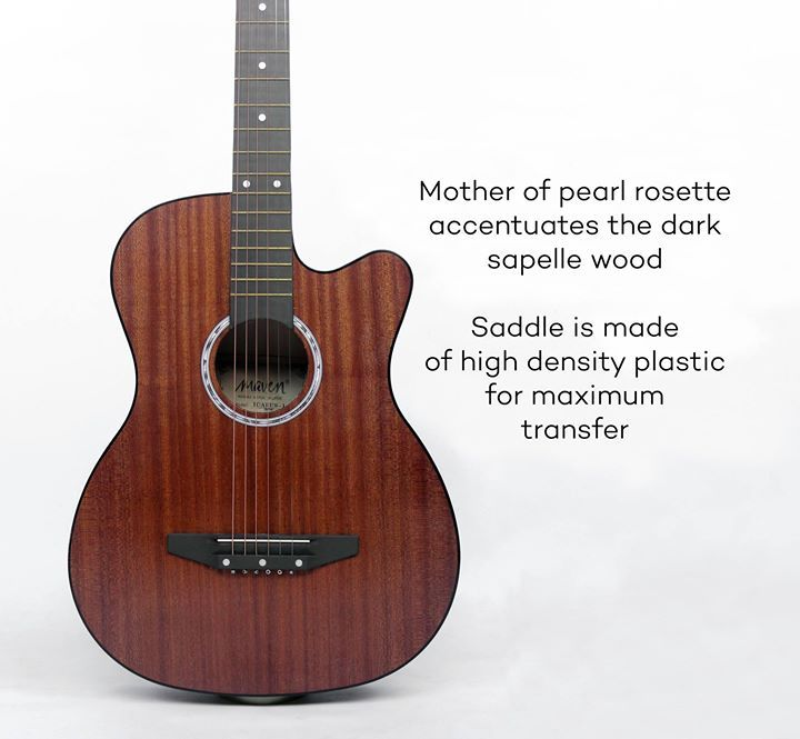 A Little Bit Of Info About The Maven Icarus 1 And It S Available At Lazada For Only P 2349 And Comes With A Free Gigbag Capo Strap And Capos The Darkest Tuner
