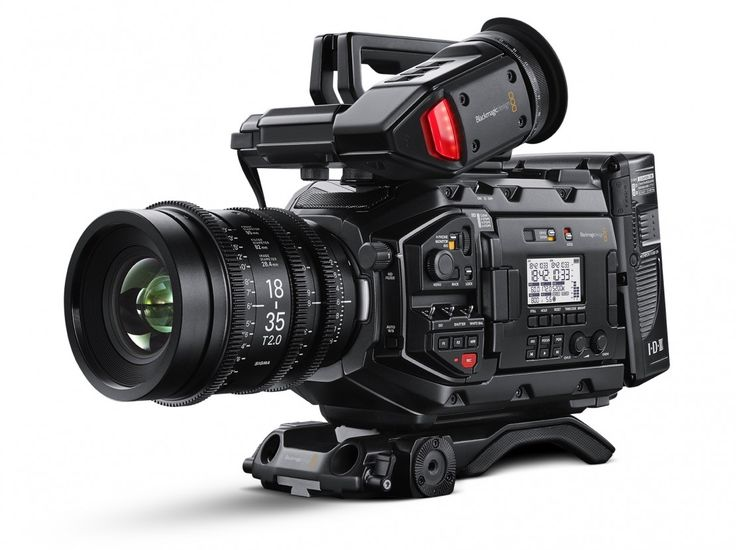 The New Blackmagic URSA  Mini Pro 4.6K is 3 Cameras in One