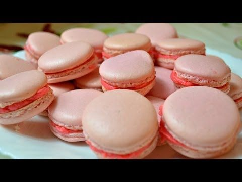 Ну, оОчень вкусное - Французское Пирожное - Печенье Макарон! - YouTube
