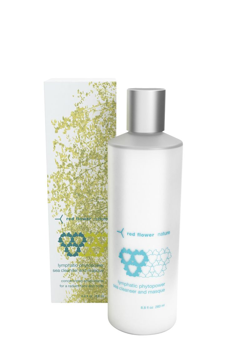 Red Flower Nature: Lymphatic Phytopower Sea Cleanser and Masque