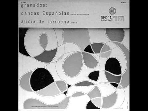 YOUNG LARROCHA plays GRANADOS 12 Danzas Espanolas (1954)