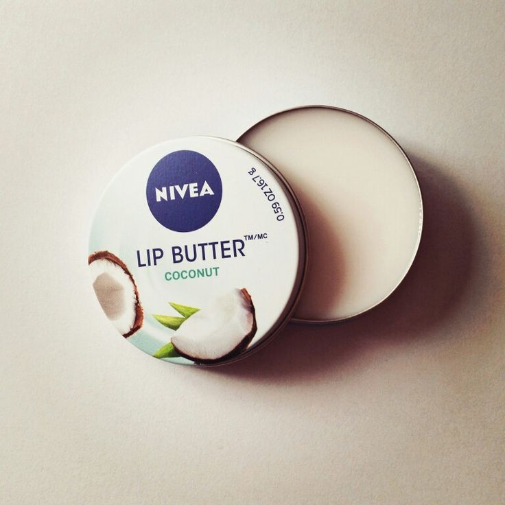 Winter protection. Coconut lip butter