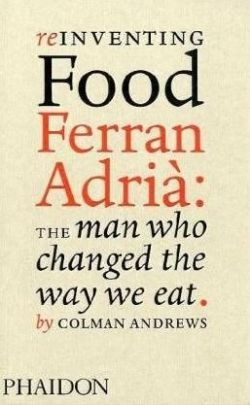 Reinventing Food Ferran Adria twarda oprawa
