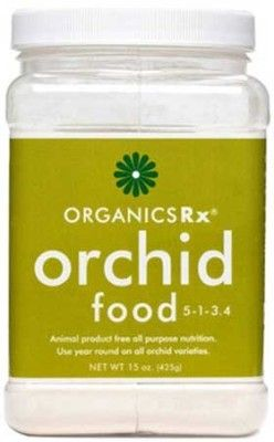 Use year round on all varieties! Organics Rx Orchid Food is an all-purpose organic fertilizer used to enhance orchid plant health and flowering year round