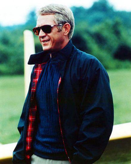 Steve McQueen casaco e suéter