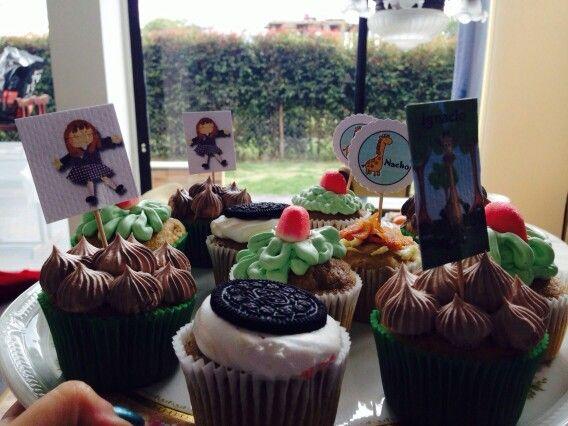 Cupcakes oreo y chocolate