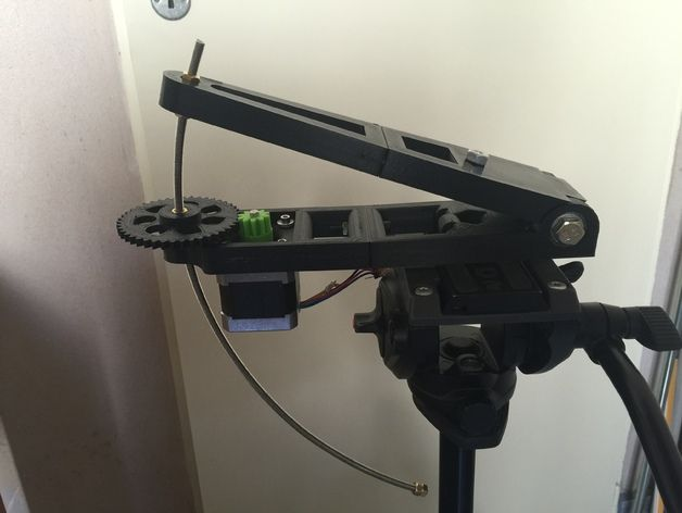 Barn Door Tracker for Astrophotography by fermunoz - Thingiverse