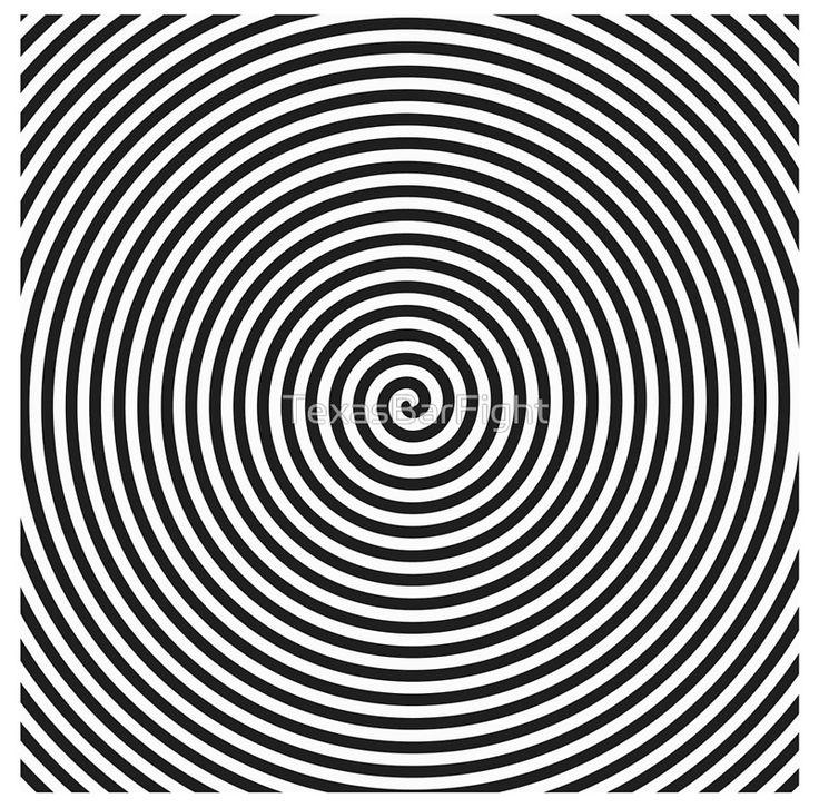 Spiral - Optical Illusion Op Art