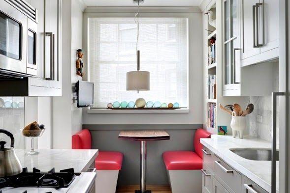 Colores Del Gabinete Para Cocina De Galera Di 2020 Ide Dekorasi Rumah Interior Desain Dapur
