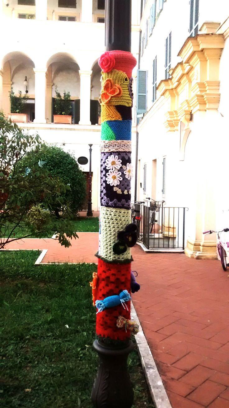 Yarnbombing #weekhand2015